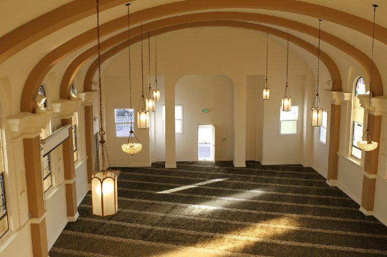 Masjid Al-Huda Inside